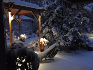 Maintenance Measures for your Outdoor Lighting this Winter